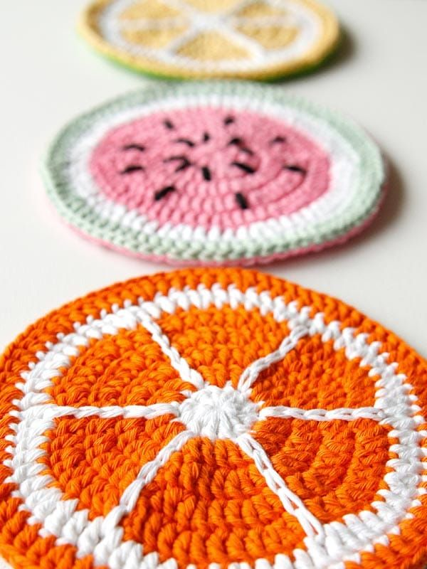 Salvamanteles de Crochet
