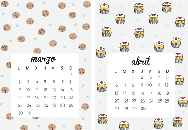 Calendario Marzo – Abril