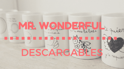 Descargables Mr Wonderful